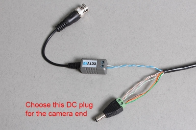 Using CAT5 cable to connect CCTV cameras to a DVR. A guide from CCTV42CCTV42