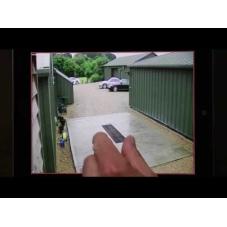 Viewing a CCTV42 HD Hybrid DVR using an iPad