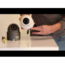 New Large open dome camera with motorised lens