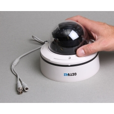 Vandal Dome Camera 4-9mm Lens