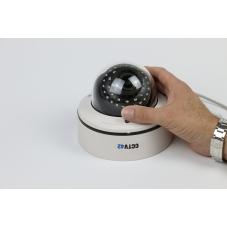 Vandal Dome Camera 2.8-12mm Lens