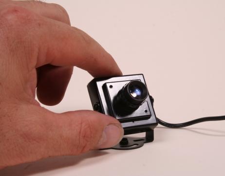 Mini Covert Camera 12mm Lens Image